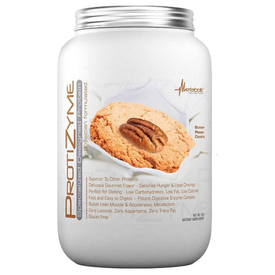 Metabolic Nutrition Protizyme 2 Lbs Protein Metabolic Nutrition Butter Pecan Cookie  (1058814296107)