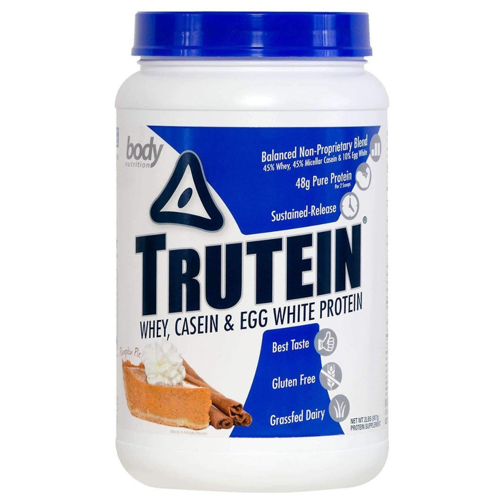 Body Nutrition Trutein 2 Lbs Protein Body Nutrition Pumpkin Pie  (1058634203179)