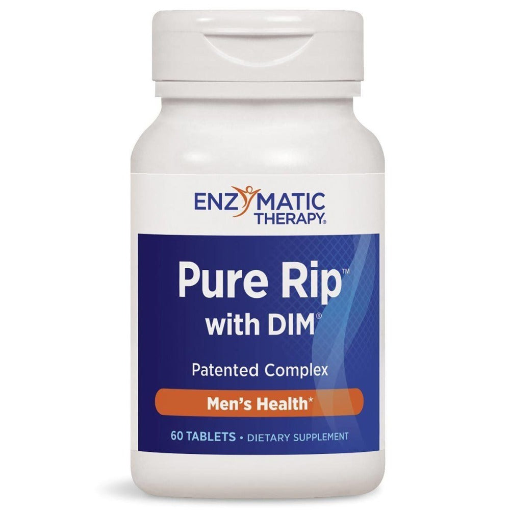 Enzymatic Therapy Pure Rip w/ DIM 60 Tabs Testosterone Boosters Enzymatic Therapy  (1057986773035)