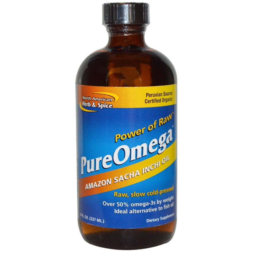 North American Herb & Spice Pure Omega Sacha Inchi Oil 8 Fl Oz North American Herb & Spice  (1058753347627)