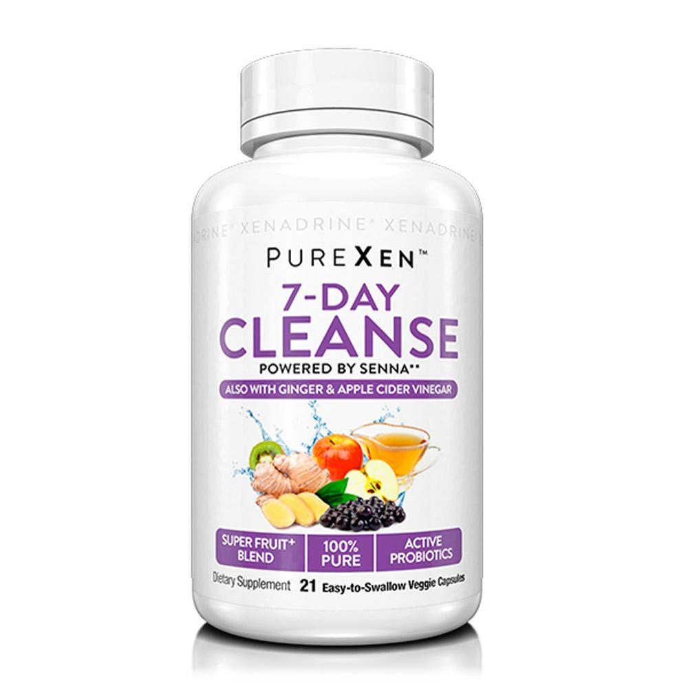 PureXen 7-Day Cleanse 21 Caps Digestive Health PureXen