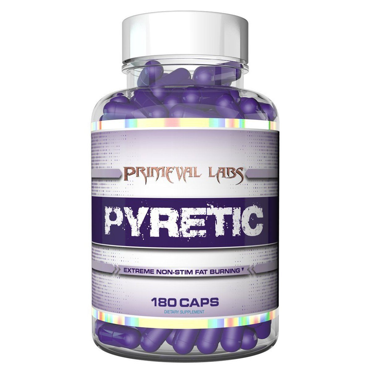 Primeval Labs Pyretic 120 Caps Diet/Energy Primeval Labs  (1059244474411)