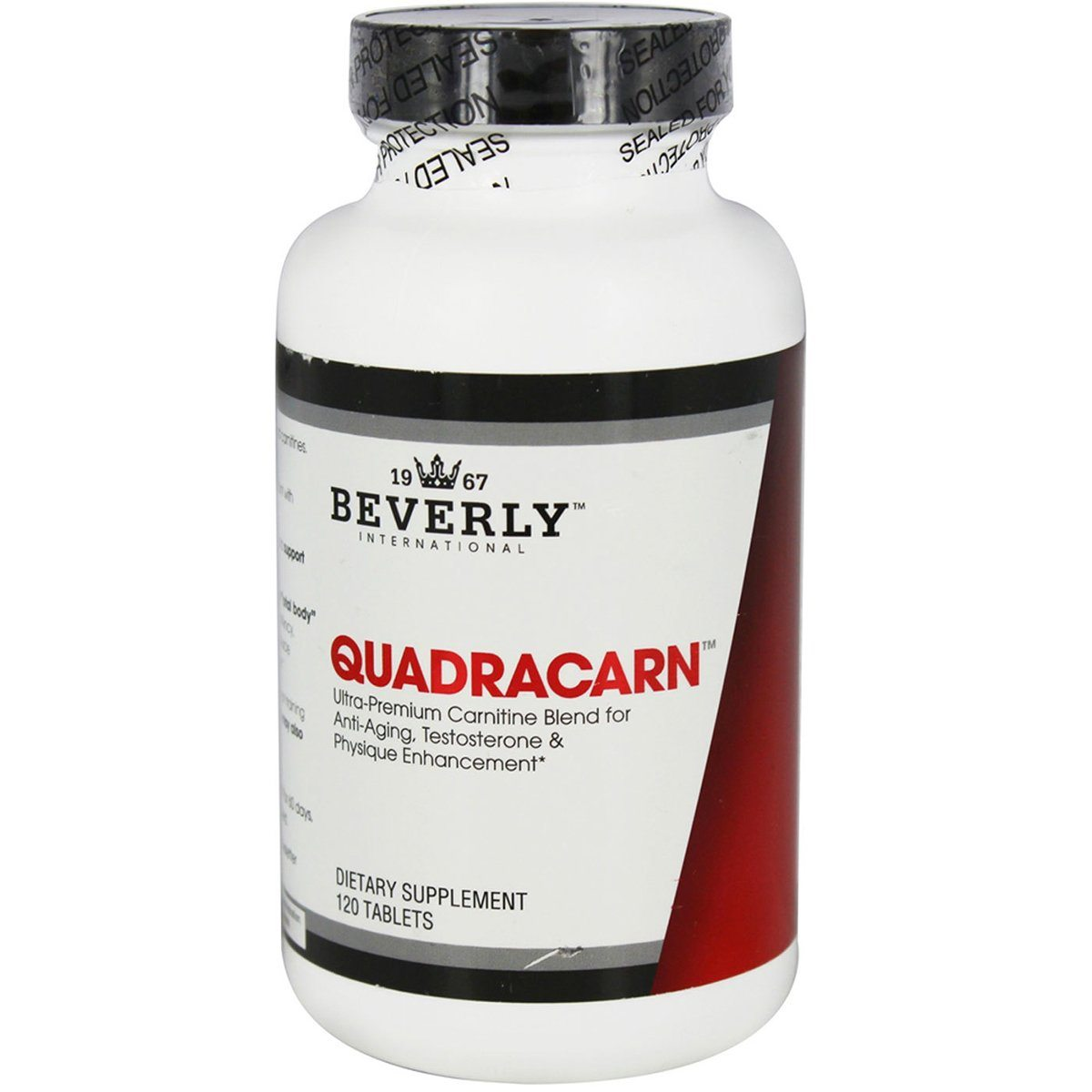 Beverly International QuadraCarn 120 Tabs Amino Acids Beverly International  (1058184298539)
