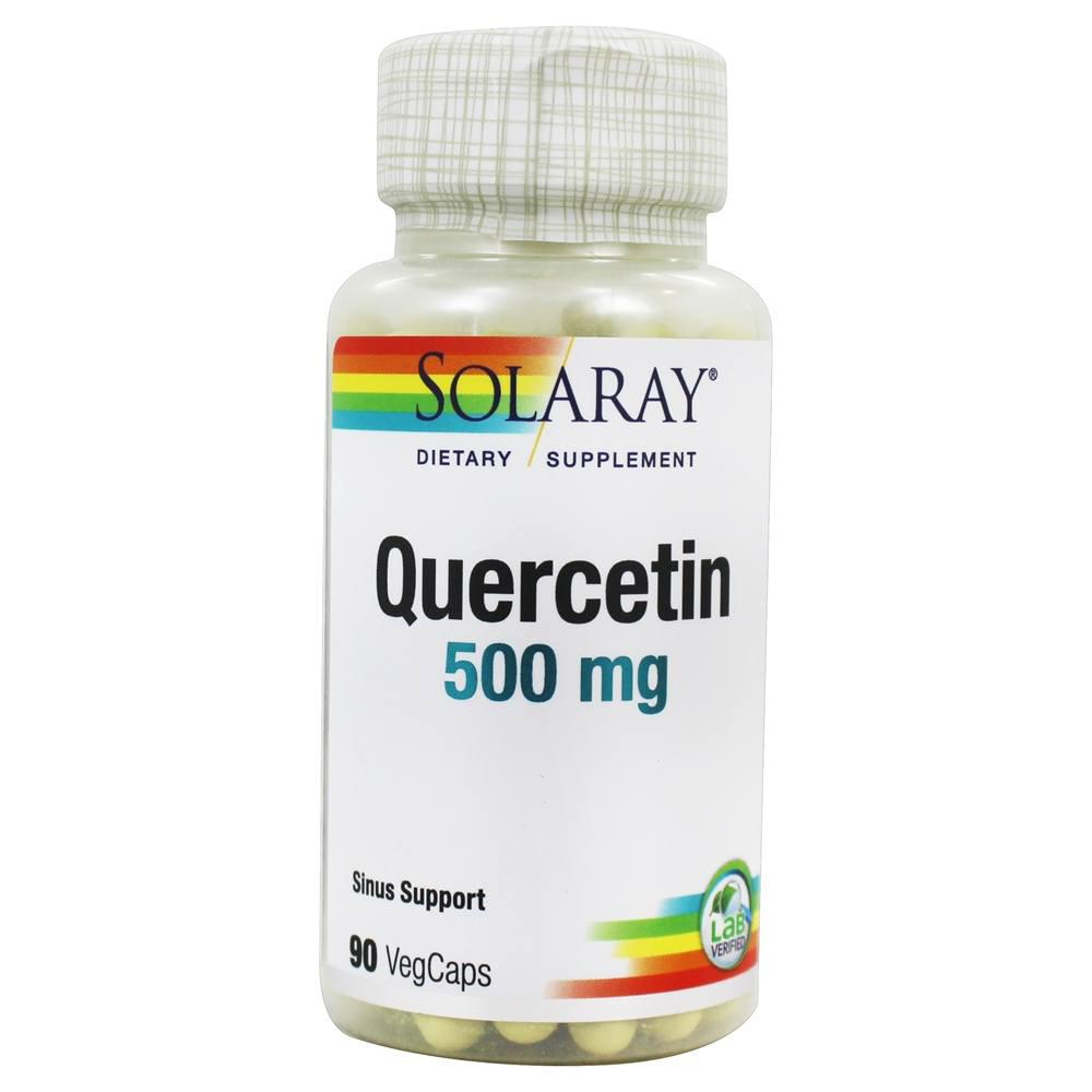 Solaray Non-Citrus Quercetin 500mg 90 Caps (1057905999915)
