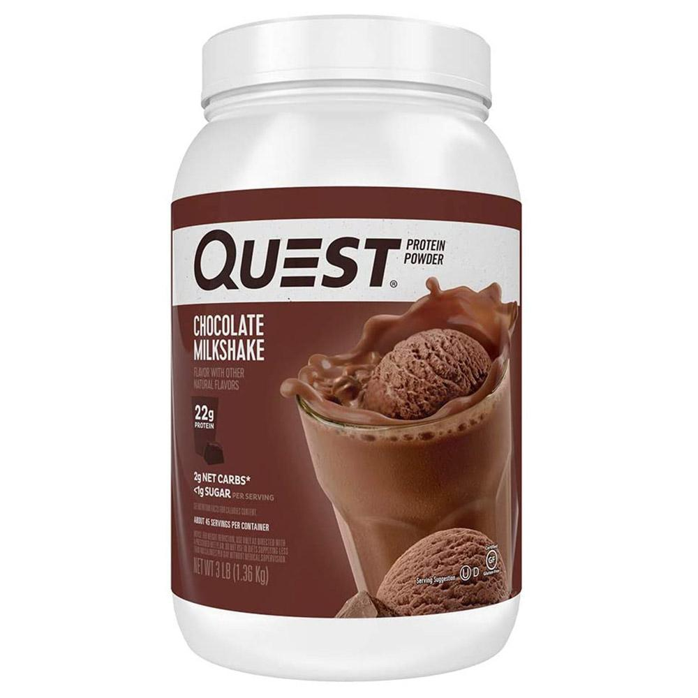 Quest Nutrition Quest Protein Powder 3lb | Protein Powder Protein Powders Quest Nutrition Chocolate Milkshake  (1712224010283)