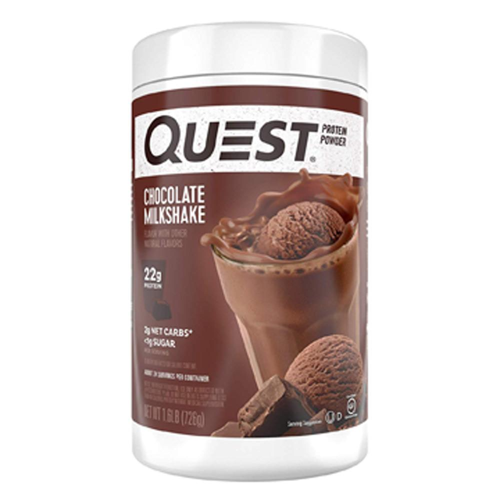 Quest Nutrition Quest Protein Powder 1.6lb Protein Powders Quest Nutrition Chocolate Milkshake  (1712220766251)