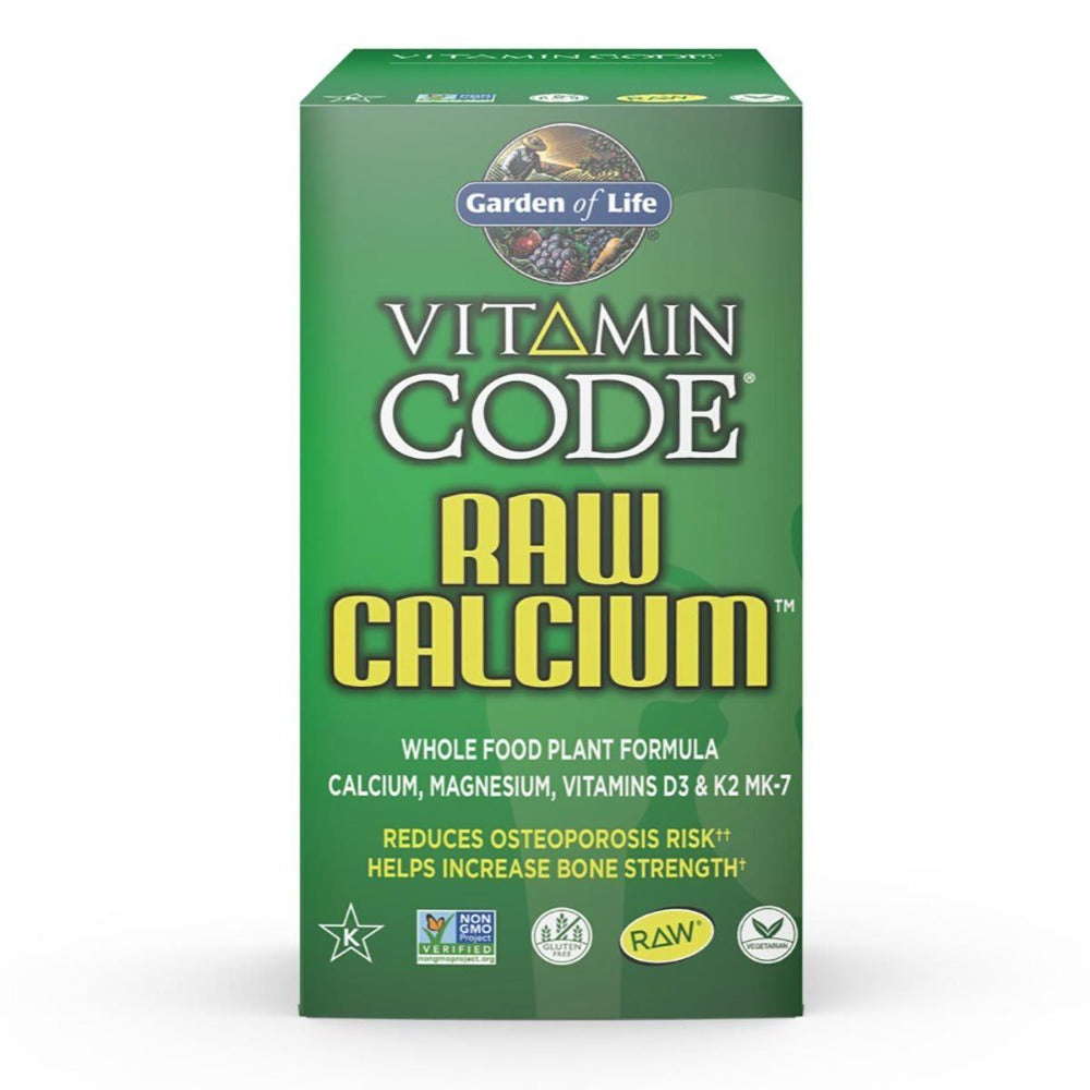 Garden of Life Vitamin Code Raw Calcium 60 Caps Minerals Garden of Life  (1058191999019)