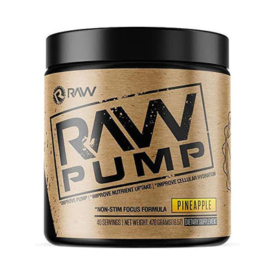 RAW Pump 40/sv Nitric Oxide Raw Pineapple