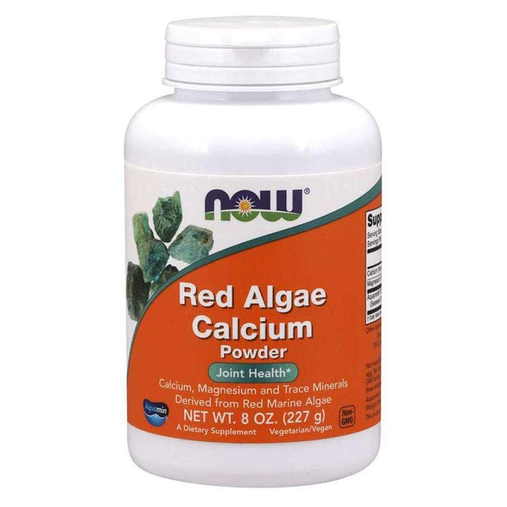 Now Foods Red Algae Calcium 8oz Vitamins & Minerals Now Foods  (1818534412331)