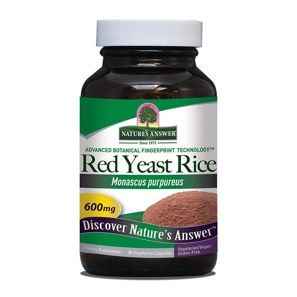 Nature's Answer Red Yeast Rice 90 Capsules Specialty Health Products Nature's Answer  (1782434332715)