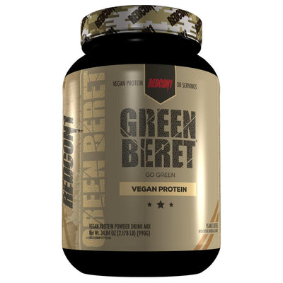 Redcon1 Green Beret Vegan Protein | Plant Based Protein Protein Powders Redcon 1 Peanut Butter  (1795795877931)