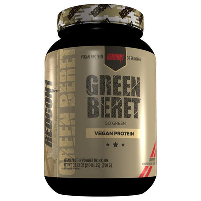 Redcon1 Green Beret Vegan Protein | Plant Based Protein Protein Powders Redcon 1 Strawberry  (1795795877931)