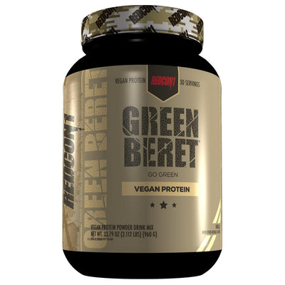 Redcon1 Green Beret Vegan Protein | Plant Based Protein Protein Powders Redcon 1 Vanilla  (1795795877931)