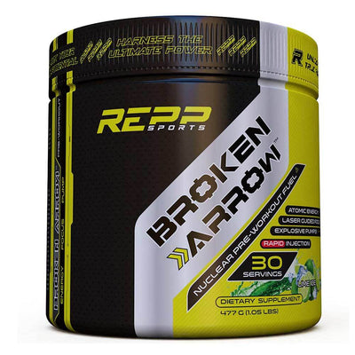 REPP Sports Broken Arrow 30 Servings Sports Performance Recovery REPP SPORTS Lime Ice  (1745699209259)