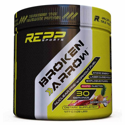 REPP Sports Broken Arrow 30 Servings Sports Performance Recovery REPP SPORTS Spiked Punch  (1745699209259)