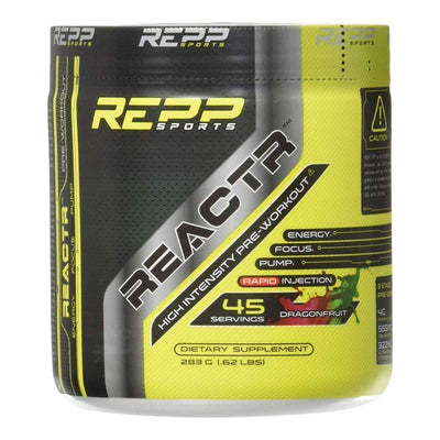 REPP Reactr 45 Servings | Pre-Workout Sports Performance Recovery REPP SPORTS Dragonfruit  (1746402148395)