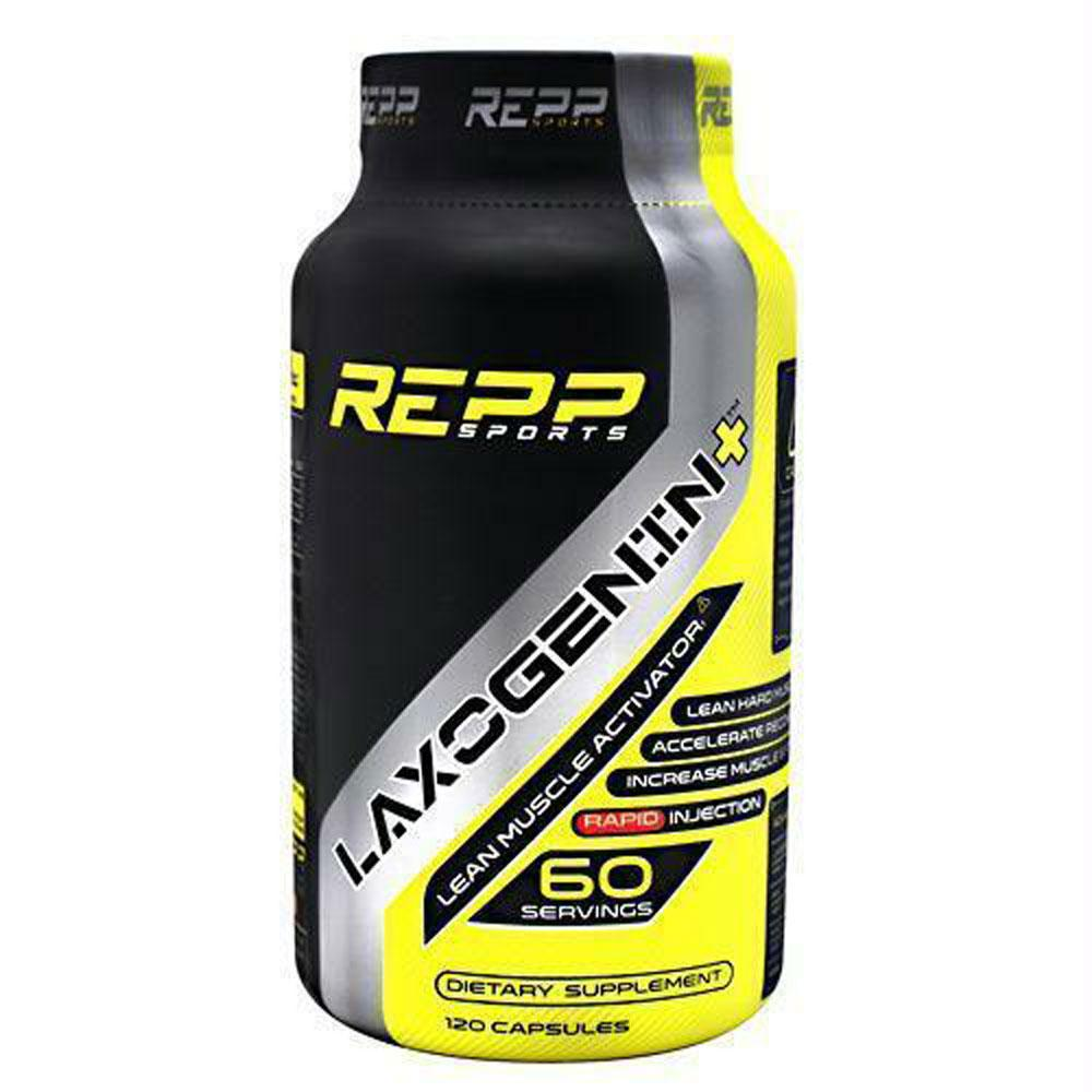 REPP Sports Laxogenin+ 120 Capsules Sports Performance Recovery REPP SPORTS  (1745708908587)
