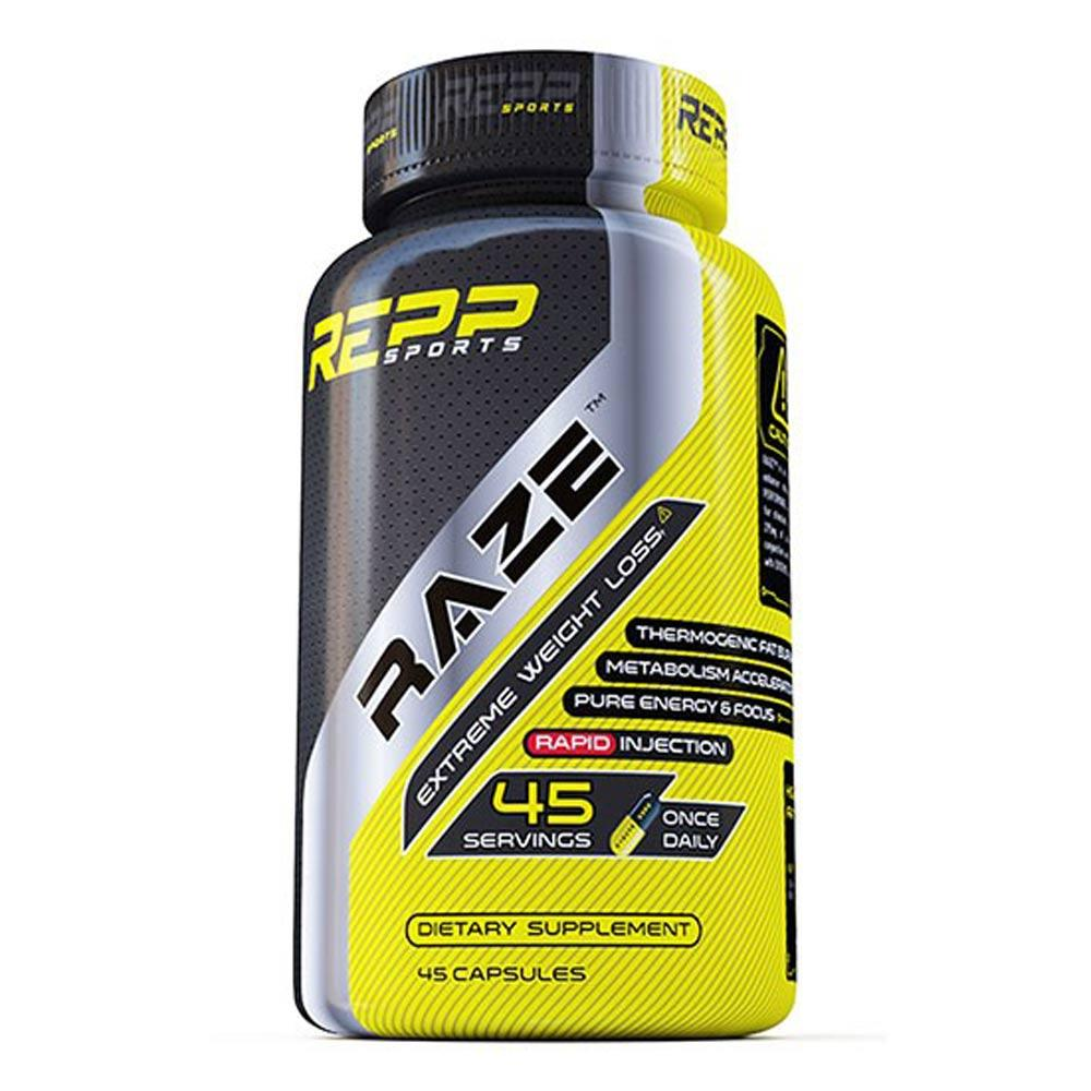 REPP Sports Raze 45 Caps | Fat Burner Fat Burner REPP SPORTS  (1745710743595)