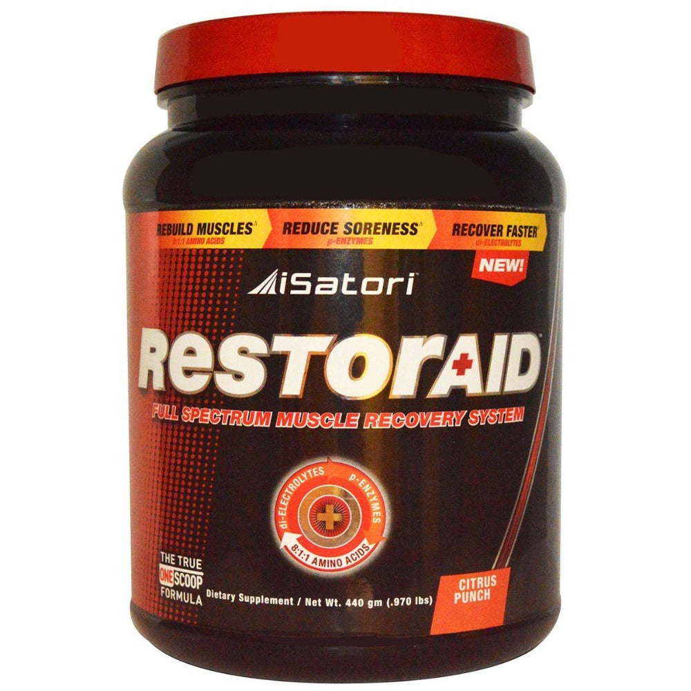 iSatori Restoraid Citrus Punch 30 Servings Sport Performance / Recovery Isatori  (1058862039083)