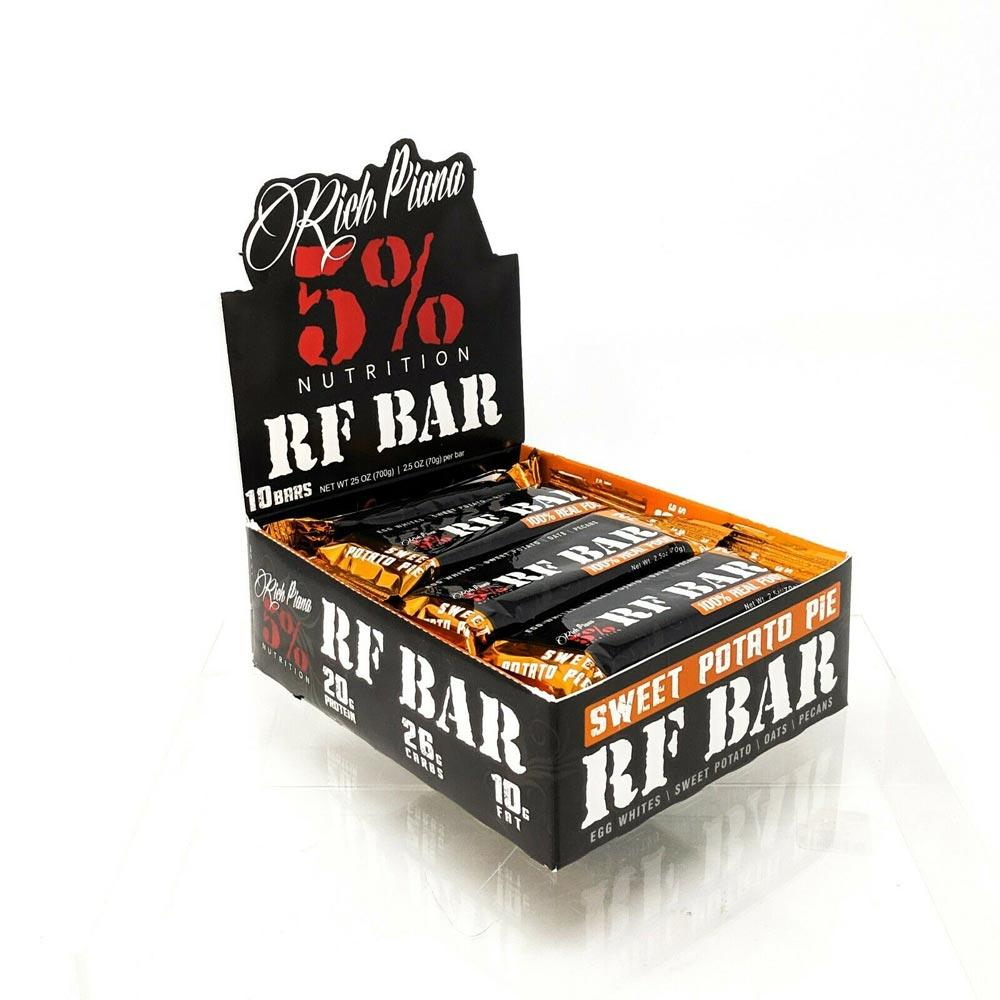 5% Nutrition RF Bar 10/Box Bars 5% Nutrition Sweet Potato Pie  (1762358460459)