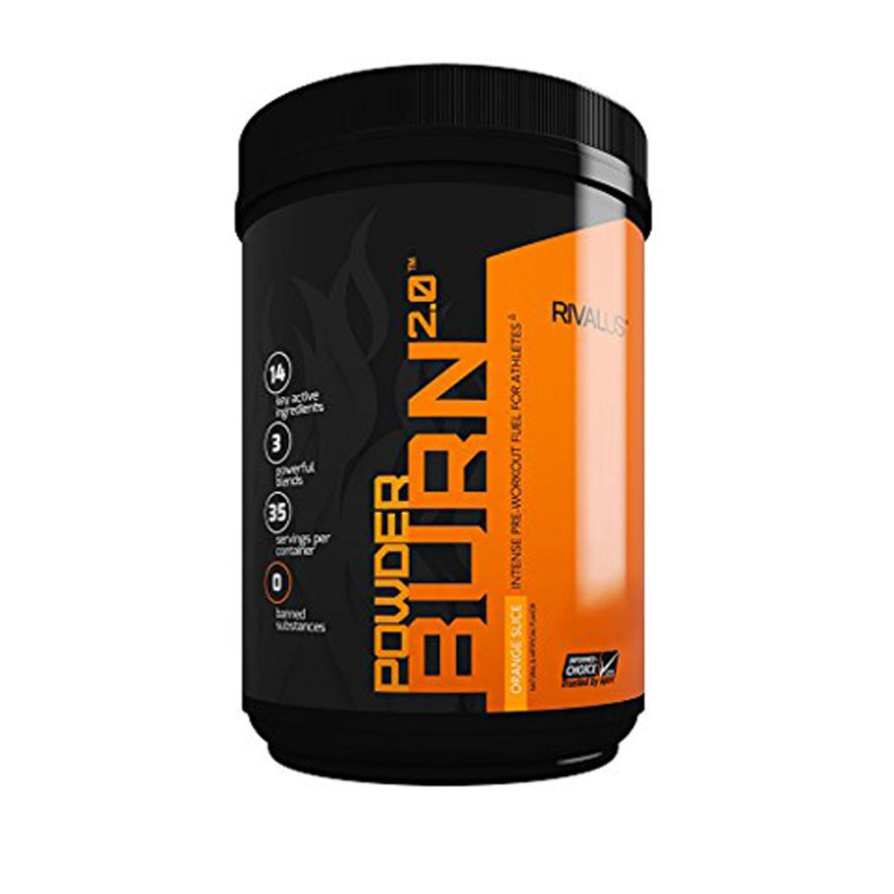 Rivalus Powder Burn 2.0 Fat Burner Rivalus  (1722639515691)