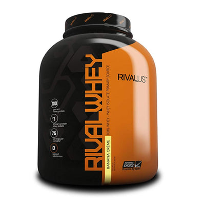 Rivalus Rival Whey 5lb Protein Powders Rivalus Banana Creme  (1722639286315)
