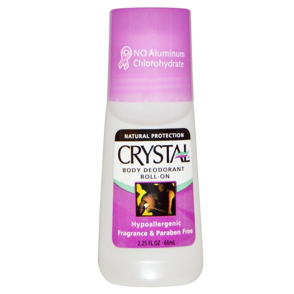 Crystal Body Deodorant Roll-On 2.25 Oz Personal Care Crystal Body  (1058055520299)