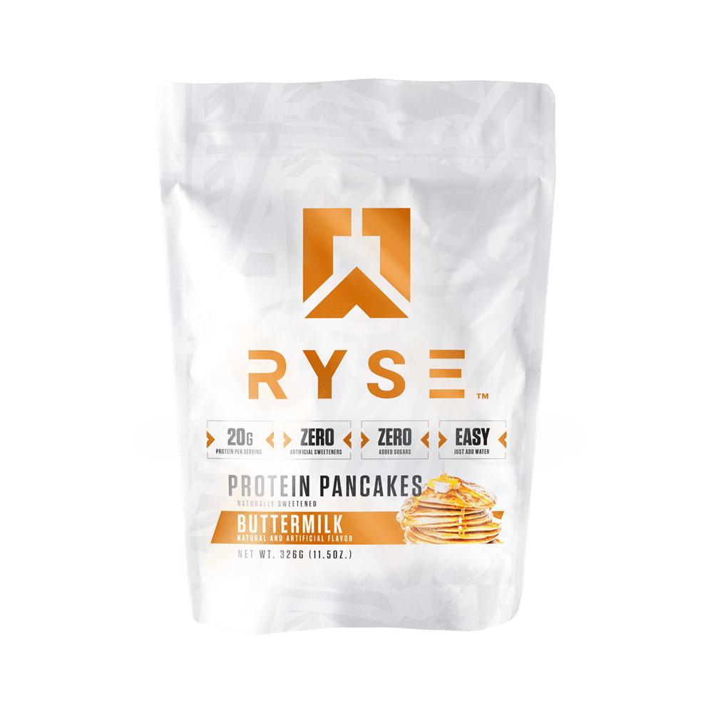 Ryse Buttermilk Pancake Mix 6 Servings Foods & - Juices Ryse Supplements  (4450714353729)