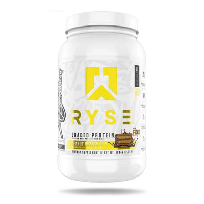 Ryse Loaded Protein 2lb Protein Powders Ryse Supplements Chocolate Peanut Butter Cup  (4450699640897)