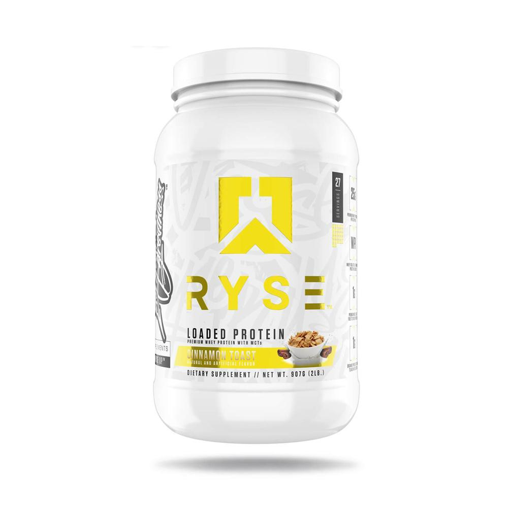 Ryse Loaded Protein 2lb Protein Powders Ryse Supplements Cinnamon Crunch  (4450699640897)