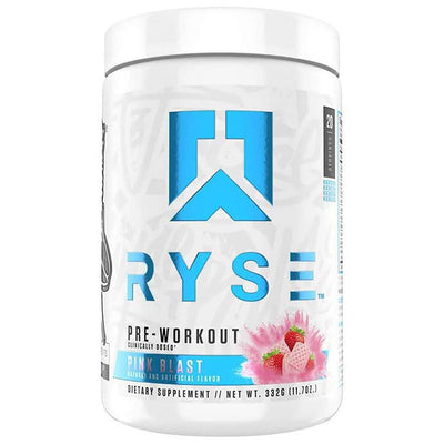 Ryse Supplements Pre-Workout 20/Servings Pre-Workouts Ryse Supplements Pink Blast  (4544214958145)