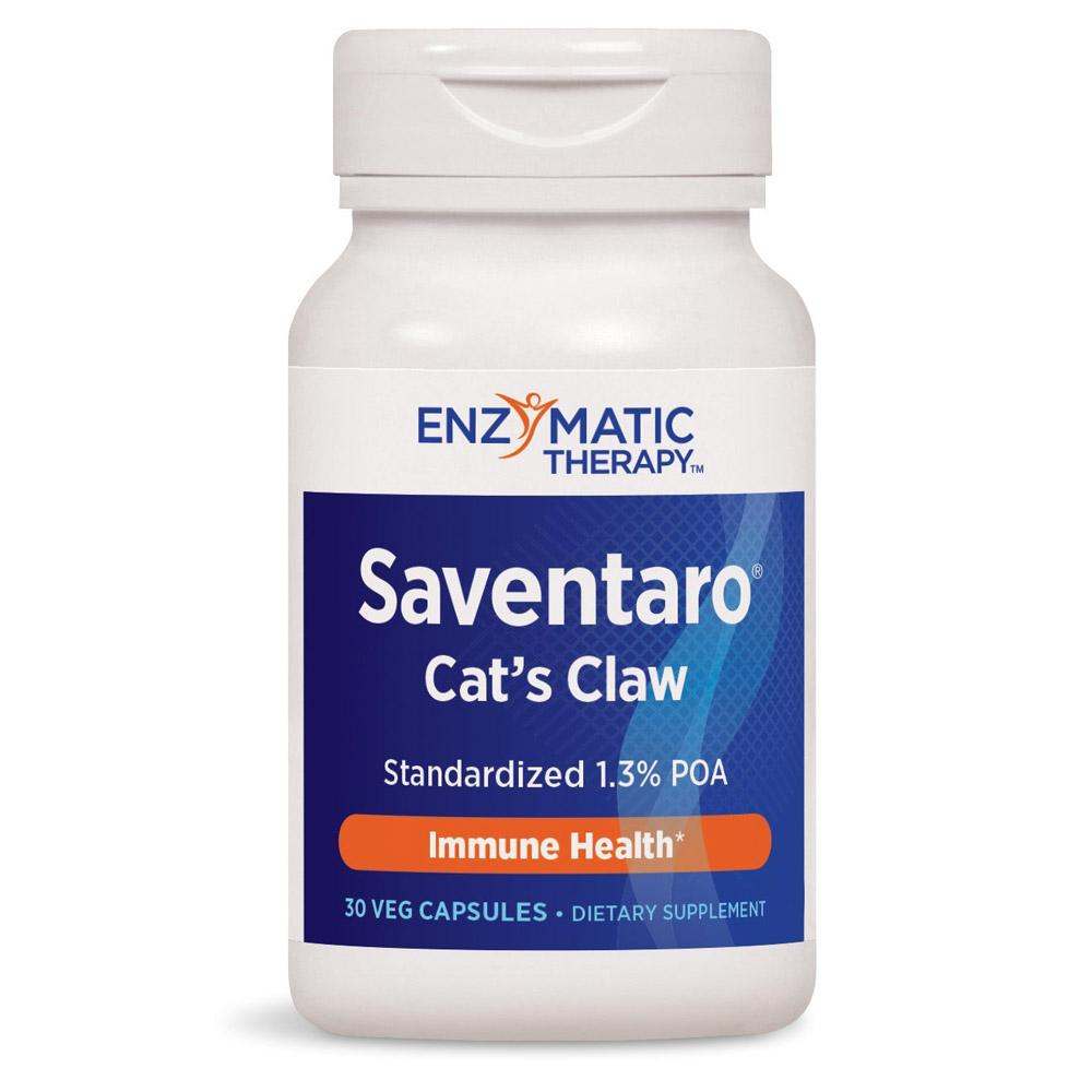 Enzymatic Therapy Saventaro Cat's Claw 30ct | Immune Health Herbs Enzymatic Therapy  (1769626959915)