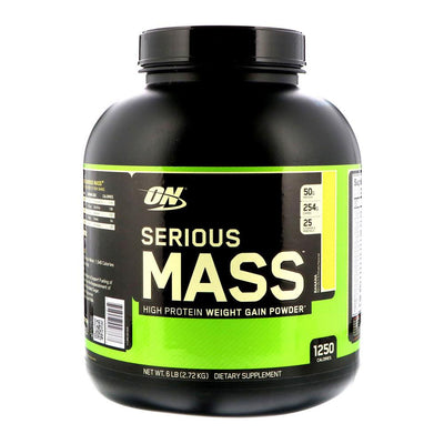 Optimum Nutrition Serious Mass 6lbs | Weight Gainer Protein Powders Optimum Nutrition Banana  (1796709384235)