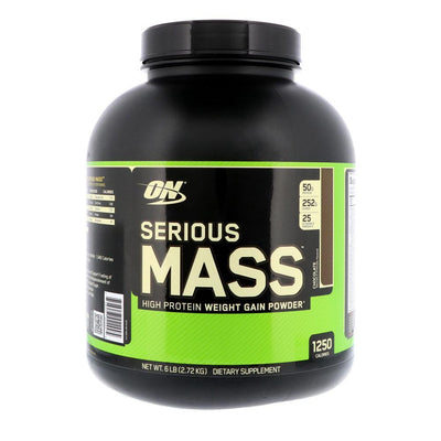 Optimum Nutrition Serious Mass 6lbs | Weight Gainer Protein Powders Optimum Nutrition Chocolate  (1796709384235)
