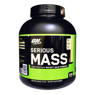 Optimum Nutrition Serious Mass 6lbs | Weight Gainer Protein Powders Optimum Nutrition Vanilla  (1796709384235)
