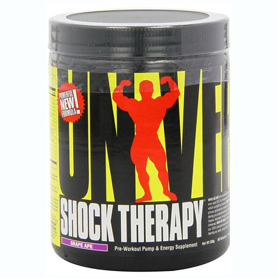 Universal Shock Therapy 200 Grams Pre-workout Universal Grape Ape  (1058723954731)