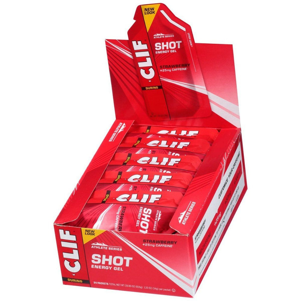 Clif Bar Shot Energy Gel 24-1.2 oz Diet/Energy Clif Bar  (1059001958443)