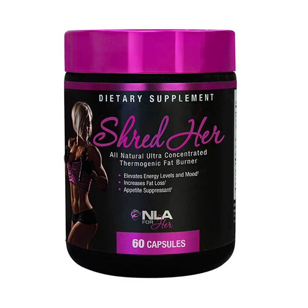 NLA For Her Shred Her 60 Caps Diet/Energy NLA For Her  (1059174809643)