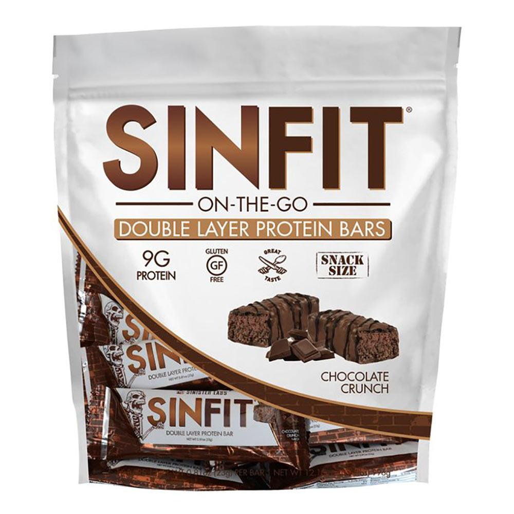 Sinister Labs Sinfit Snack Size Chocolate Crunch 15/BAG Foods & Snacks Sinister Labs  (1573418696747)
