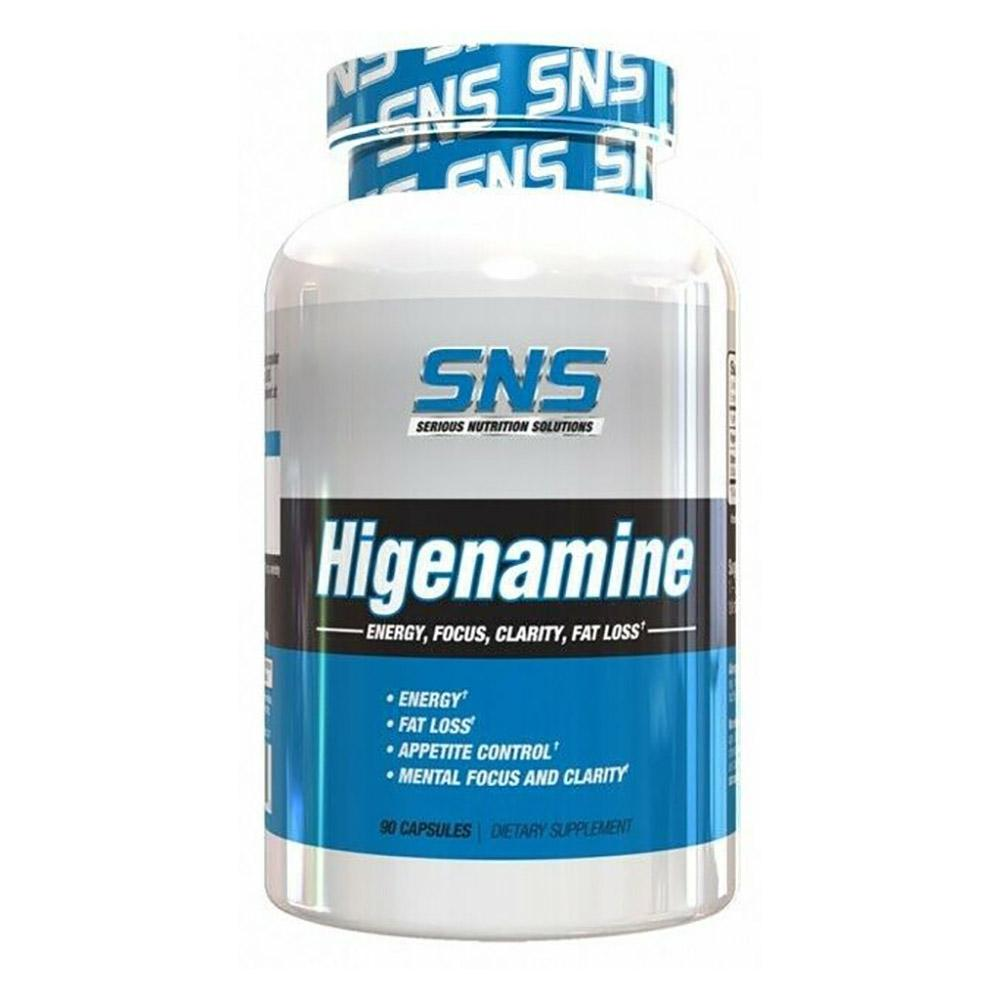 Serious Nutrition Solutions Higenamine 90c Fat Burner Serious Nutrition Solutions  (4529657348161)