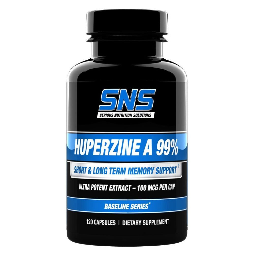 Serious Nutrition Solutions Huperzine A 120 Caps Cognitive Serious Nutrition Solutions  (1059041804331)