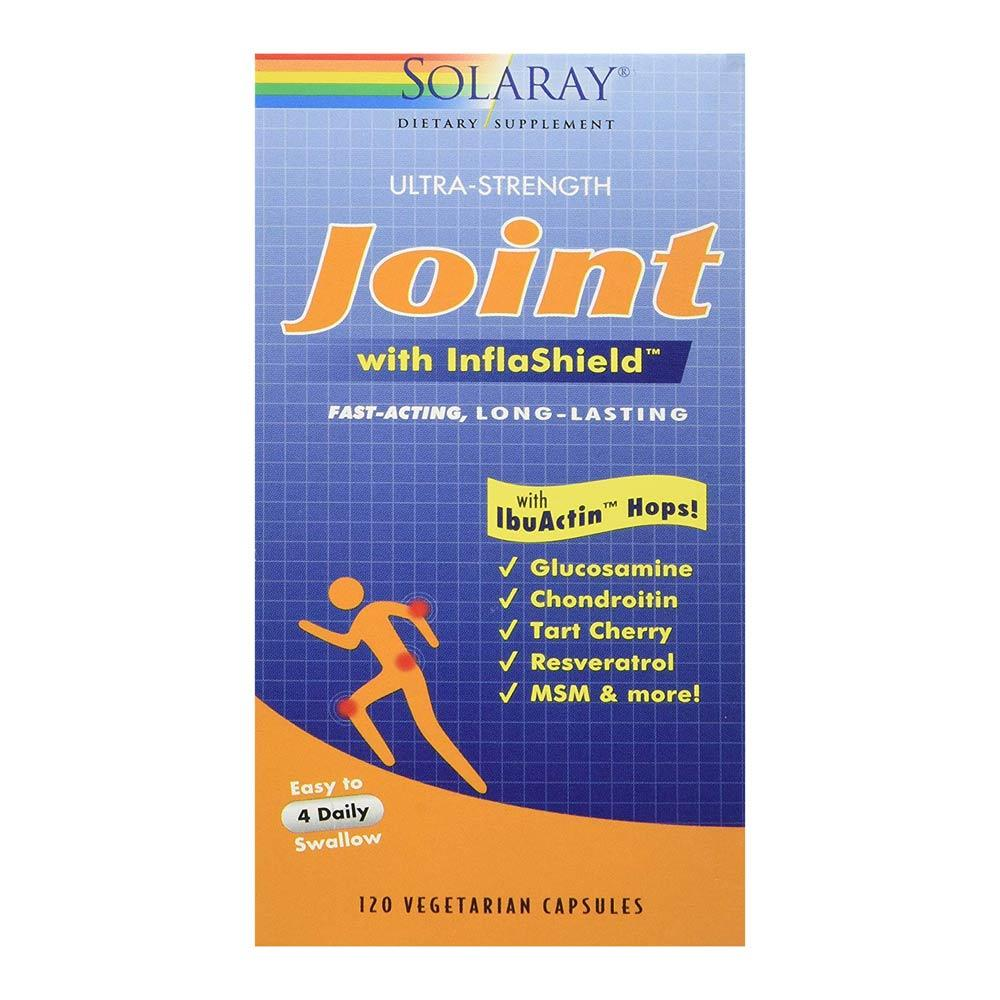 Solaray Joint with InflaShield & Glucosamine Chondroitin 120 Vege Caps Joint Aids Solaray  (1058292727851)