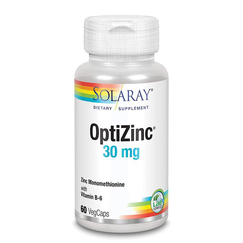 Solaray OptiZinc 30mg 60 Caps Minerals Solaray  (1057899413547)