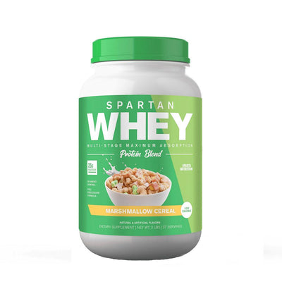 Spartan Nutrition Spartan Whey 2lbs Protein Powders Sparta Nutrition MARSHMALLOW CEREAL  (1677763248171)
