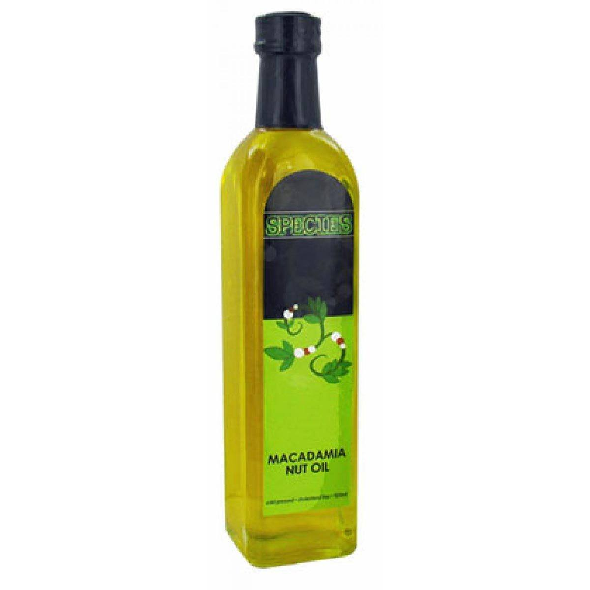 Species Nutrition Macadamia Nut Oil 500ml Omega Fatty Acids / EFAs Species Nutrition  (1058172960811)