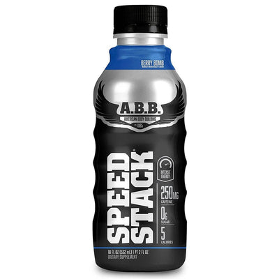 American BodyBuilding Speed Stack 12/Case Diet/Energy American BodyBuilding Berry Bomb  (1058320154667)