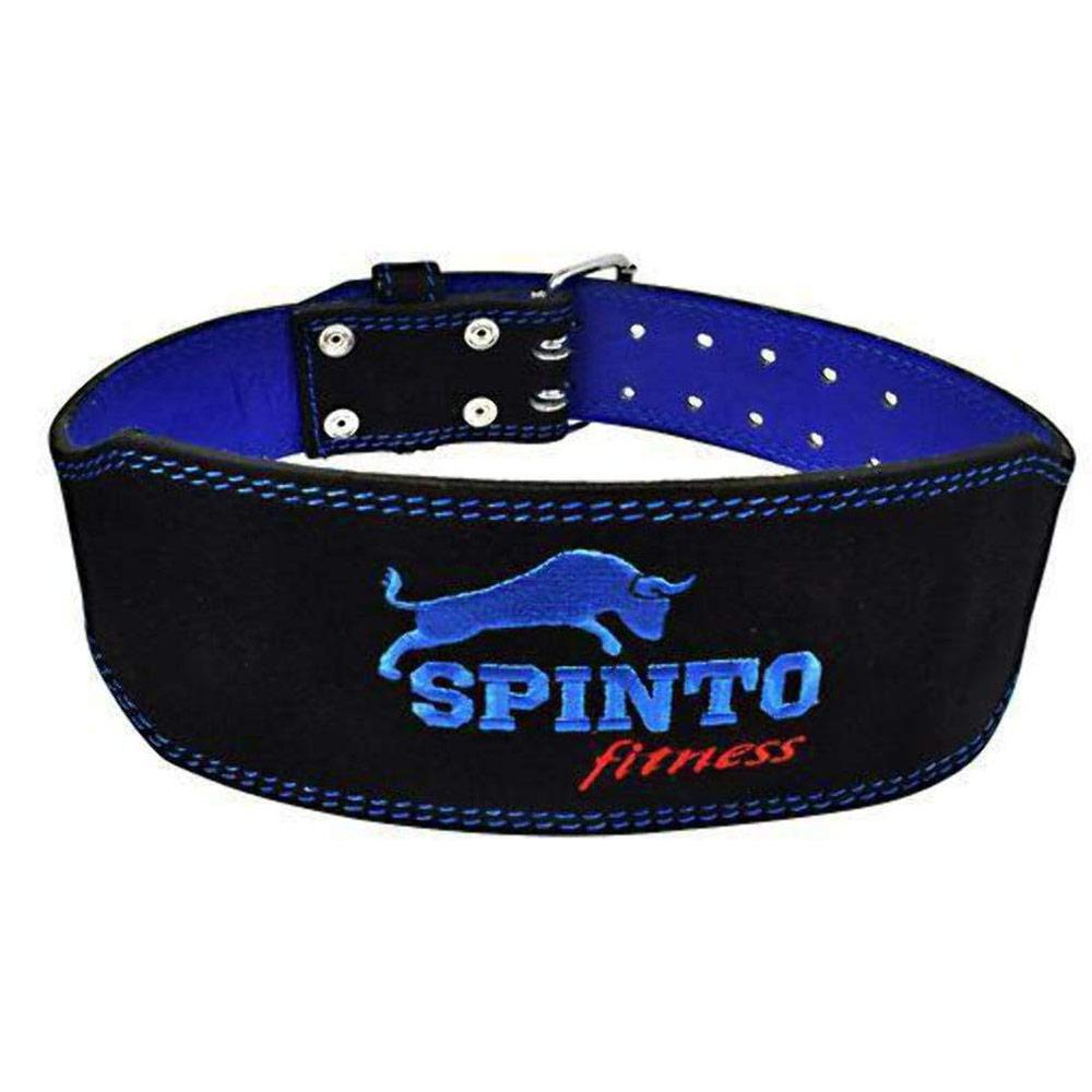 Spinto USA Suede Leather Belt Blue Apparel Accesories Books Spinto USA S  (4367965618241)