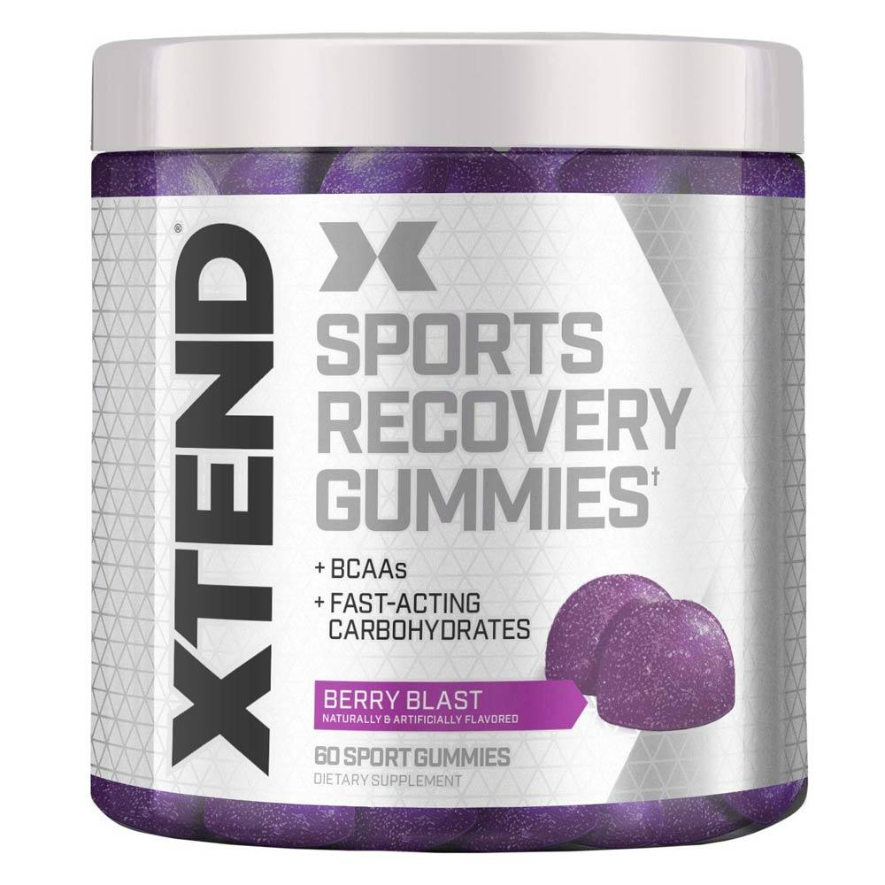 Xtend Sport Gummies 60ct | BCAA Amino Acid Gummies Foods Juices Xtend Berry Blast  (1807788802091)
