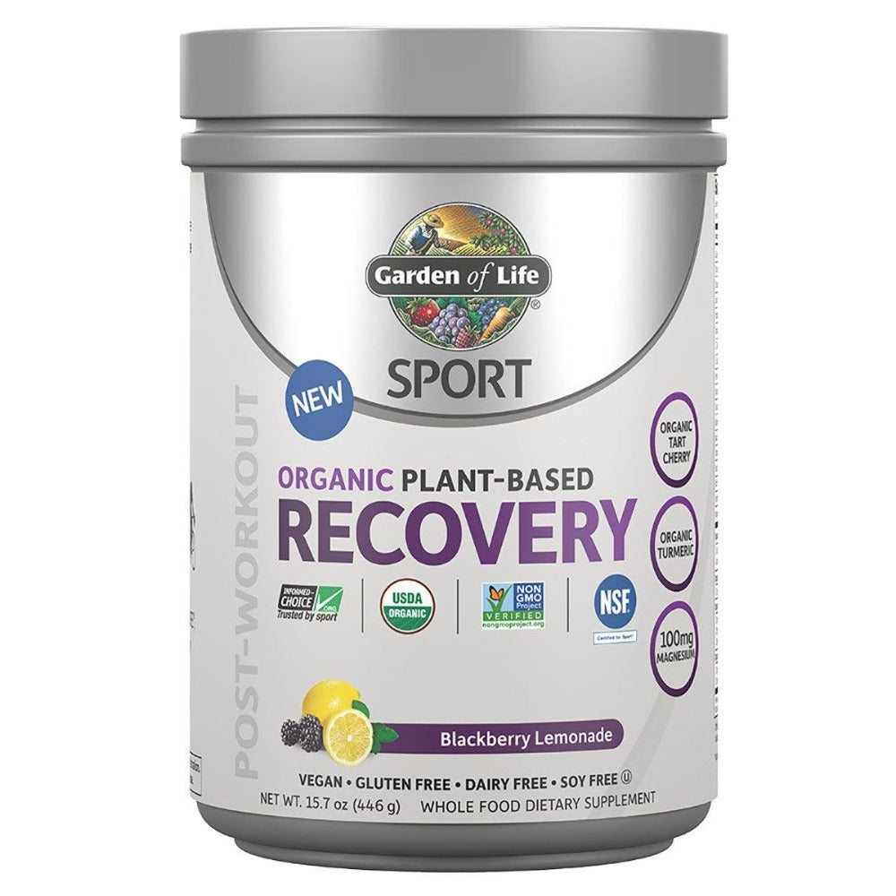 Garden Of Life Sport Recovery Blackberry Lemonade 30SV Sports Performance & - Recovery Garden of Life  (1399374184491)