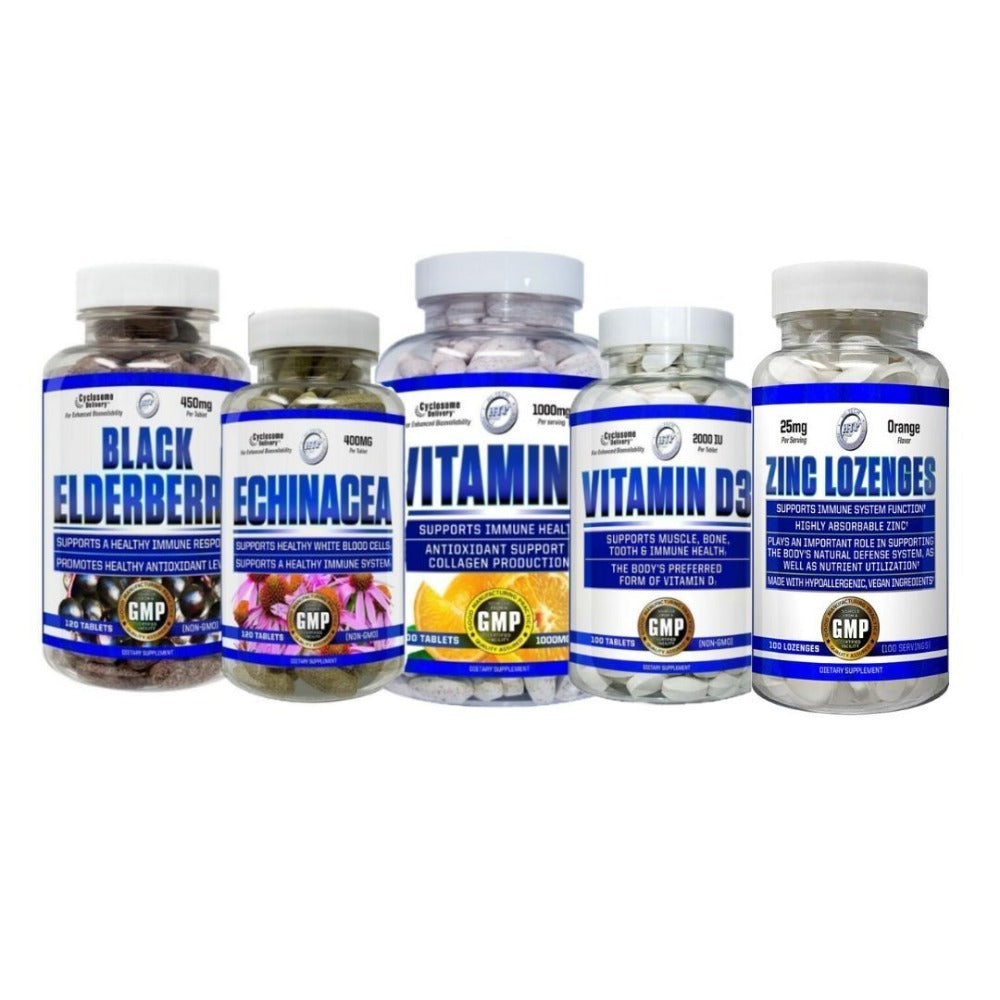 Hi-Tech Immunity Boosting Stack Vitamins & Minerals Hi-Tech Pharmaceuticals  (4415921520705)